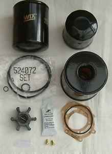 Service Kit Nanni Marine Diesel 2.50HE 14hp, N2 14hp, 3.75HE 21hp, N3 21hp