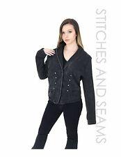 Converse One Star Jean Jacket Dark Blue Denim Coat Button Up Collared Casual
