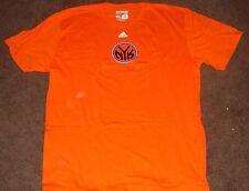 NBA Knicks Orange Short Sleeve T Shirt XL
