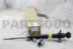 4853080454 Genuine Toyota ABSORBER ASSY, SHOCK, REAR, RH/LH 48530-80454
