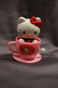 Hello Kitty Vintage Tea Cup Wind Up Toy (1992)