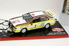 Ixo Presse Rallye Monte Carlo 1/43 - Audi Quattro A2 1984