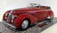 Modellini statici di auto, furgoni e camion rosso per Lancia