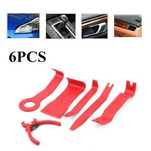 6PCS Car Auto Door Window Trim Dash Emblem Upholstery Panel Removal Install Tool