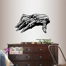 Vinyl Decal Robot Robotic Hand Cyber Technology Boys Room Wall Sticker 1964