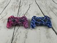 Playstation 3. Ps3. X2 unofficial wireless controllers.