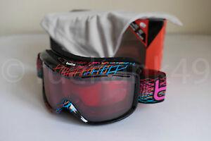 Маска Bolle Monarch Black Diamond / Vermillion Ski Goggles
