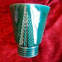 Unique céramique Pol CHAMBOST années 40 grand vase parfait état signé Art Déco