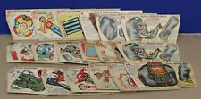 Lot of 20 Muffets Shredded Wheat Unpunched cardstock Toys 1952
