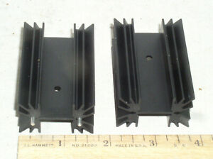 Vertical Mounting 12.7x12.7x5.97mm, Black Anodized Pack of 40 Heat Sinks Board Level Heatsink for TO-18 322400B00000G
