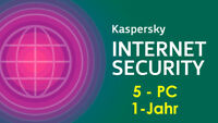 Kaspersky Internet Security 1-Jahr 5-PC