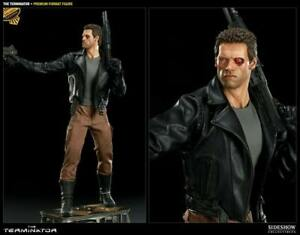 The Terminator Premium Format Figure Sideshow Shwarzenegger 1/4 EXCLUSIVE RARE