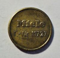 Miele - T-Nr. 11727 - Token - Medaille - Waschmarke