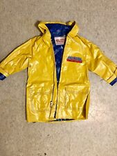 1983 Tri-Klops vs He-Man Masters Of the Universe Vinyl Rain Coat Jacket VTG RARE