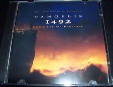 Vangelis 1492 Music From The Original Soundtrack (Australia) CD – Like New