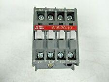 ABB CONTACTOR A16-30-10