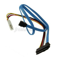 70cm SAS Serial Attached SCSI SFF-8482 to SATA HDD Hard Drive Adapter Cord