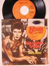 "DAVID BOWIE DIAMOND DOGS 7"" GER ISSUE WITH PS"