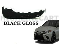 For 2018-2020 Toyota Camry Left Front Bumper Lower Side Trim Molding TO1046107