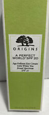 ORIGINS A Perfect World Broad Spectrum SPF 20 Age Defense Eye Cream