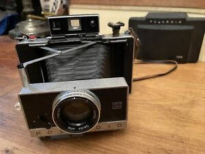Polaroid 195 Instant Land Camera with Tominon 114mm f3.8 lens