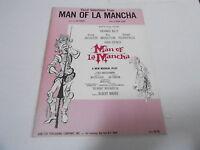 1965 (NOS) MAN OF LA MANCHA vintage music song book