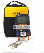 Refrigeration Digital manifold Testo 550  0563 1550  with KCH20 SOFT CASE