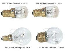 Backofenlampe 300° E14 oder E27,...