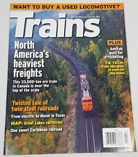 Trains Magazine Back Issue February 2012 North America's Heaviest Freights