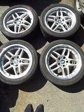 8x17 ET20 BMW 5 E39 ORIGINAL STERNSPEICHE 71 2-TEILIG 235/45 DUNLOP SOMMERREIFEN