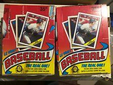 2 1988 O-Pee-Chee Baseball Unopened Boxes