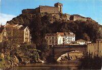 BT4878 Lourdes chateau fort et le pont st michel France