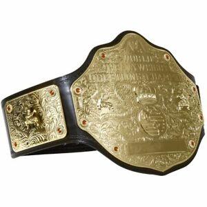 WWE World Heavyweight Big gold Wrestling Championship Belt Replica Adult 2mm WCW