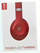 Beats By Dr Dre Studio3 Wireless Headphones - Red Brand New and Sealed