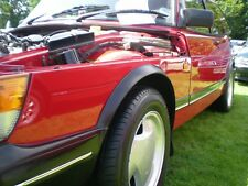 SAAB 900 CLASSIC WHEELARCH  TRIMS convertible 900i 900 turbo  POWDER COATED