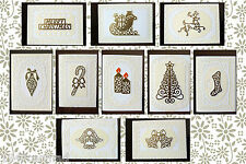 CRAFT ROBO/SILHOUETTE Layered Filigree Xmas card templates CD134 by cocopopart