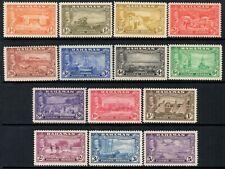 Bahamas 1948 KGVI  Tercentenary of Settlement   SG.178/191 Mint (Hinged)