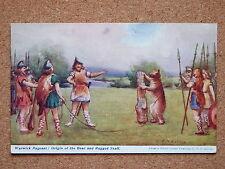 R&L Postcard: J N Bolton, Warwick Pageant Origin of the Bear and Ragged Staff