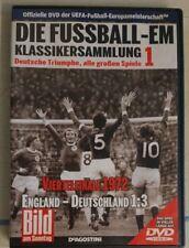 DVD - DIE FUSSBALL-EM - Viertelfinale 1972 - England : Deutschland 1 : 3  --  ei