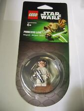 LEGO STAR WARS Princess Leia Magnet 850637 NEW Sealed 2013 Retired