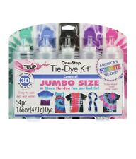 ☆☆ New Tulip 5 Color One Step Tie Dye Kit Carousel Bright Colors Jumbo Size ☆☆