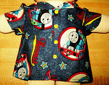 """THOMAS the TRAIN ENGINE SHIRT for 12-14"""" CPK Cabbage Patch Kids"""