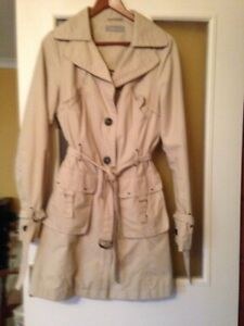 Special offer!  Liz Claiborne Ladies Trench Coat Size Small