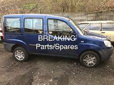 FIAT DOBLO ACTIVE M-JET 1.9 DIESEL VAN BREAKING PARTS SPARES OR REPAIR SALVAGE