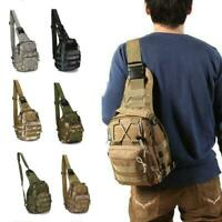 Nützliche Schulter Militärische Taktische Rucksack Reise Camping Wandern Tr Y7V4