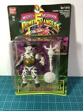 Mighty Morphin Power Rangers Evil Space Aliens Head Butting Robogoat  TY