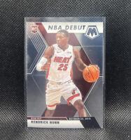 Kendrick Nunn Rookie NBA Debut 2020 Mosaic Basketball Panini #268 Miami Heat