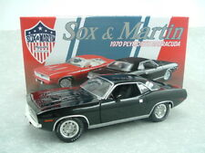 1970 SOX & MARTIN BUDDY MARTIN 1:18 440 CUDA #1806104BB SOX AND MARTIN BARRACUDA