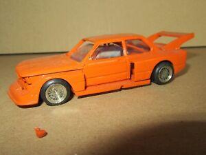 60Q Kit Artisanal Base MINICHAMPS France BMW 320I E21 GR5 Orange 1978 1:43