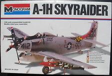 MONOGRAM 5419 - A-1H SKYRAIDER - 1:48 - Flugzeug Modellbausatz - Model Kit